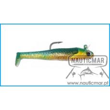 AMOSTRA FISHUS SHAD ATTACK 9cm 30gr Cor 012
