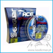 Linha Seaguar Ace 100% Fluorocarbon 0.52mm 50m