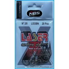 ANZOL NBS LASER EXTRA POINT L533BN nº1/0 20un