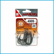 Anzol Maruto 4909 Assist Hook BN nº2/0 10un