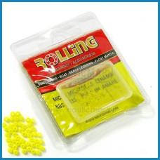Micro Missangas NBS Cerâmica 1mm 100un Cor:Amarelo