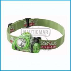 Lanterna de Cabeça Zexus ZWG100 Verde