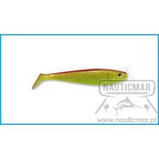 Vinil Delalande Shad GT 13cm Cor:46 Chartreuse 5un