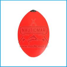 Bóia Furada Eva-Rock NauticMar Cor:Vermelha 80gr