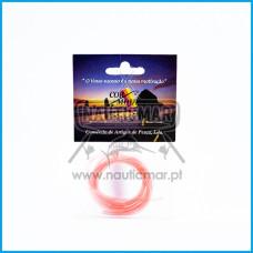 Tubo Silicone Cormoura Vermelho 1.5mm