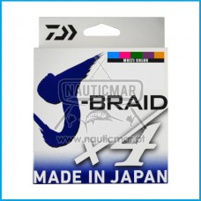 Multifilamento Daiwa J-Braid 4B Multicor 0.33mm 300m