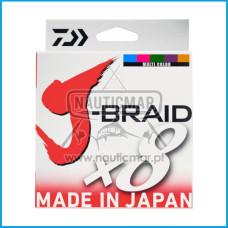 Multifilamento Daiwa J-Braid 8B Multicor 0.24mm 300m