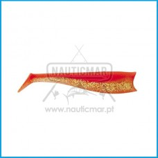Vinil Daiwa Flat Shad 22cm 2un Orange Shiner