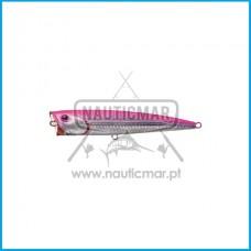 Amostra Daiwa Saltiga D Popper S 140mm Laser Pink Back