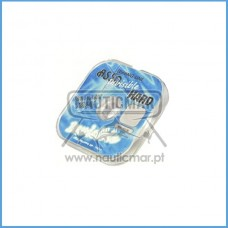 LINHA ASSO 100% FLUOROCARBONO INVISIBLE HARD 0.30mm 50m