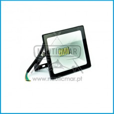Projector Led 20W Preto Glass IP65 220v