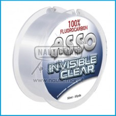 LINHA ASSO INVISIBLE CLEAR 0.21mm 50m