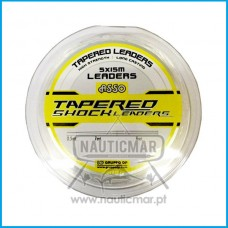 Linha Asso Tapered Shock Leader 0.20mm-0.57mm 15m x5
