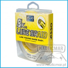 Multifilamento Asso L Braid 8B Amarelo 0.28mm 150m