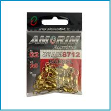 Destorcedor Amorim Barrel  c/ Colchete 12pcs nº2