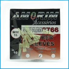 SLEEVES AMORIM RUBBER LUMINOSOS 15mm