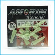 SLEEVES AMORIM RUBBER LUMINOSOS 20mm