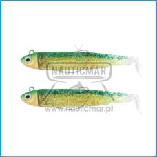 Combo Duplo Fiiish Black Minnow 120 Nº3 – Shore 18g - Green Glitter