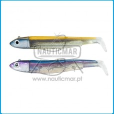 Combo Duplo Fiiish Black Minnow 120 Nº3 – Offshore 25g - Orange/Blue & Rainbow