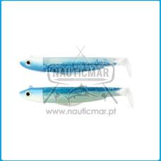 Combo Duplo Fiiish Black Minnow 120 Nº3 – Offshore 25g - Blue Glow/Shiny Blue