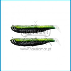 Combo Duplo Fiiish Black Minnow 120 Nº3 – Shore 12g - Green Poison