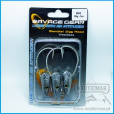 CABEÇOTES SAVAGE GEAR WEEDLESS 29G - 5/0 3UN
