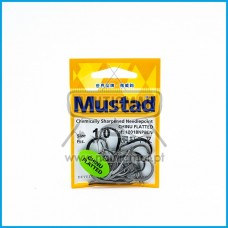 ANZOIS MUSTAD CHINU FLATTED REF.10018NP BN nº1/0