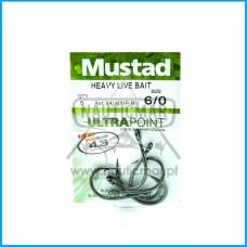 ANZOIS MUSTAD HEAVY LIVE BAIT REF.94140NP BN nº6/0