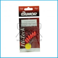 STOPPER CAMOR OVAL FLOAT FLUO RED Tam.1