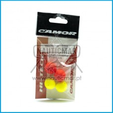 BOLAS FLUTUADORAS CAMOR 2 RED + 2 YELLOW
