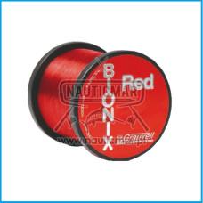 NYLON GRAUVEL BIONX  RED 0,60 1000m