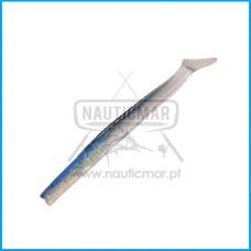 Vinil Sakura Majikeel Shad Tail 125mm Cor:010 Clear & Holograph