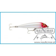 Amostra Rapala Countdown Abachi Sinking 9cm Hologram Red Head