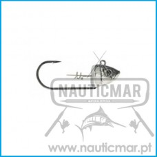 Cabeçote Storm 360GT Biscay Shad 31gr 2pcs Cor:MU