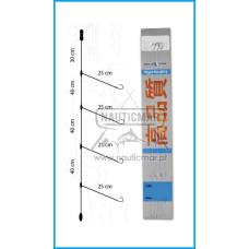 Montagem Bluefox Fluorocarbono nº2/0