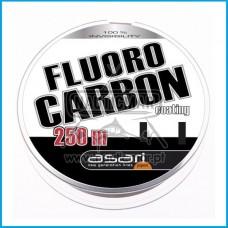Linha Asari Fluorocarbon Coating 0.25mm 250m
