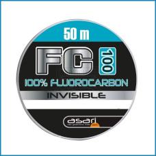 LINHA ASARI FC-100 100% FLUOROCARBONO 0.24mm 50m
