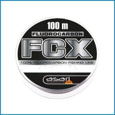 LINHA ASARI FCX 100% FLUOROCARBONO 0.26mm 100m