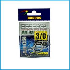Anzol Barros Inox SS-42 nº3/0