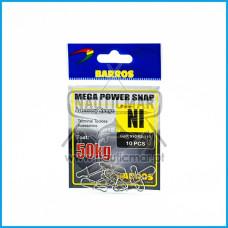 Clip Barros Mega Força NI 50Kg 10pcs