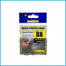 Clip Barros Mega Força 50Kg 10pcs