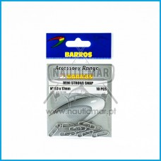 CLIP BARROS STRONG SNAP MINI nº1.0x17mm
