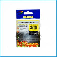 Missangas B-9247 Barros 3x1.5 120pcs