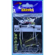 Anzol Barros Twin Assist Hook nº3/0 2un