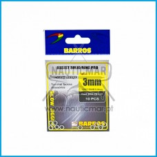 Argolas BARROS Assist Solid Ring PRO 3mm