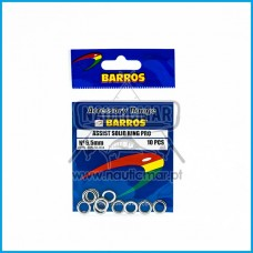 Argolas BARROS Assist Solid Ring PRO 6,5mm