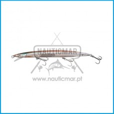 Amostra Savage 3D Jerk Minnow 175mm 25g 02-Olive Ghost